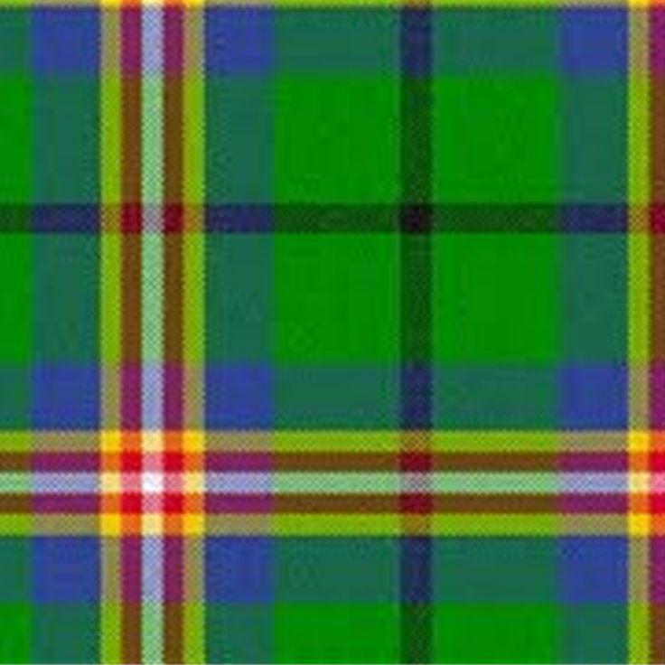 Glasgow 2014 Commonwealth Games Mediumweight Tartan Fabric