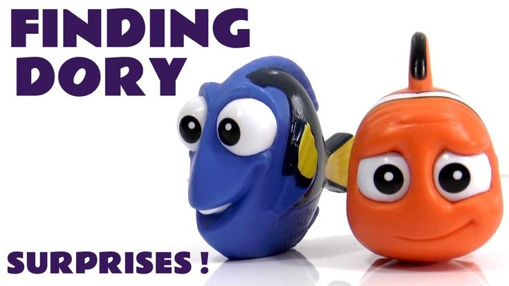 Disney Finding Dory Movie Blind Bag surprise opening with Nemo & Spongeb...