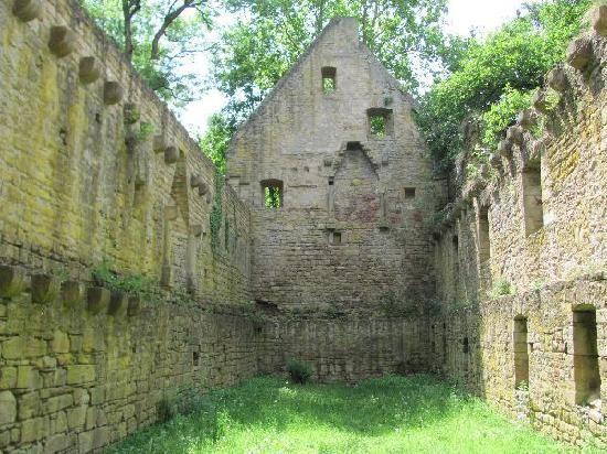 Ruins of hospital run by Hildegard von Bingen