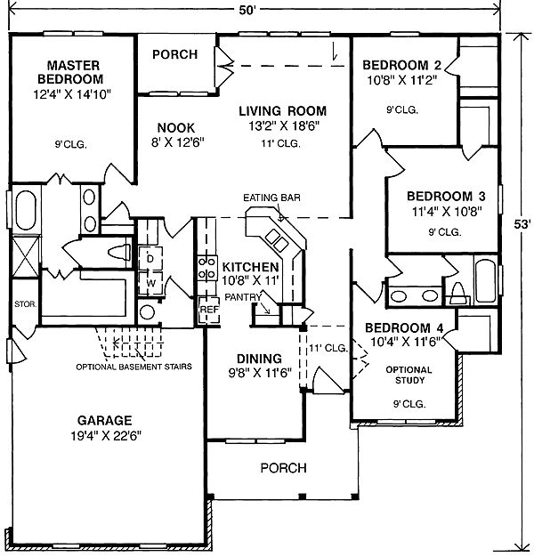 17 best images about house plans on pinterest house for Narrow corner lot house plans