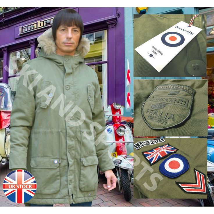 Best 25  Lambretta parka ideas on Pinterest | Skinhead Männer ...