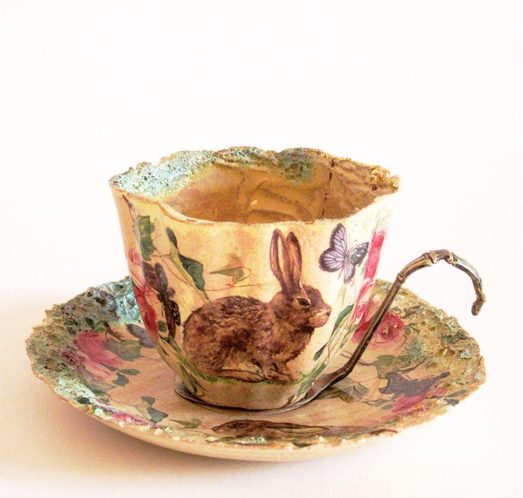 Tea Cup ..♥♥... www.bakerart.org.uk
