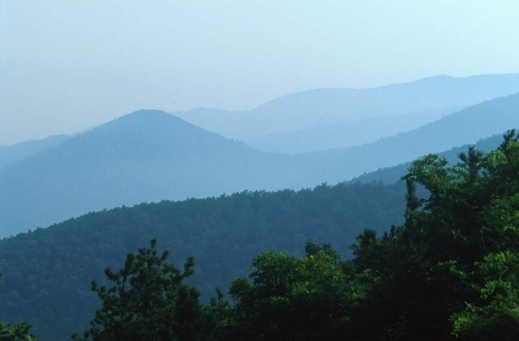 Blue Ridge Mountains...half way stop on the way to Myrtle Beach this summer?!??!