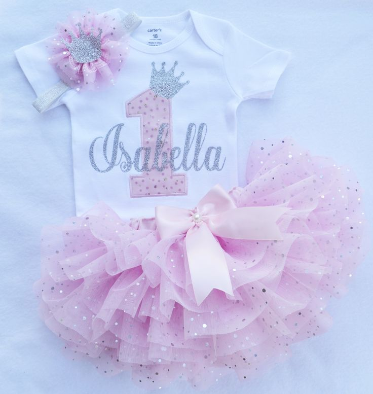 a46f9250da First birthday outfit girl