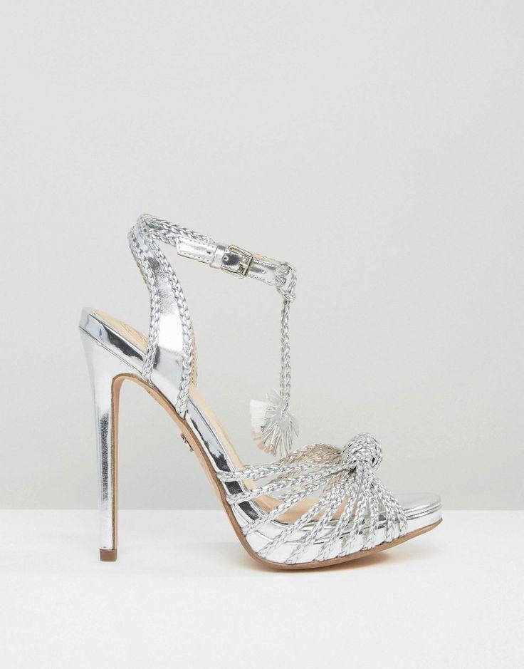 Imagen 2 deKG By Kurt Geiger Hoax Silver Platform Sandals