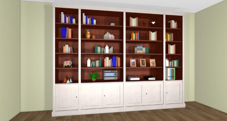 biblioth que grange salon pinterest. Black Bedroom Furniture Sets. Home Design Ideas
