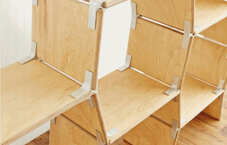 EcoSystems Designs Flat-Pack Modos Furniture Made from Sustainably Harvested Plywood