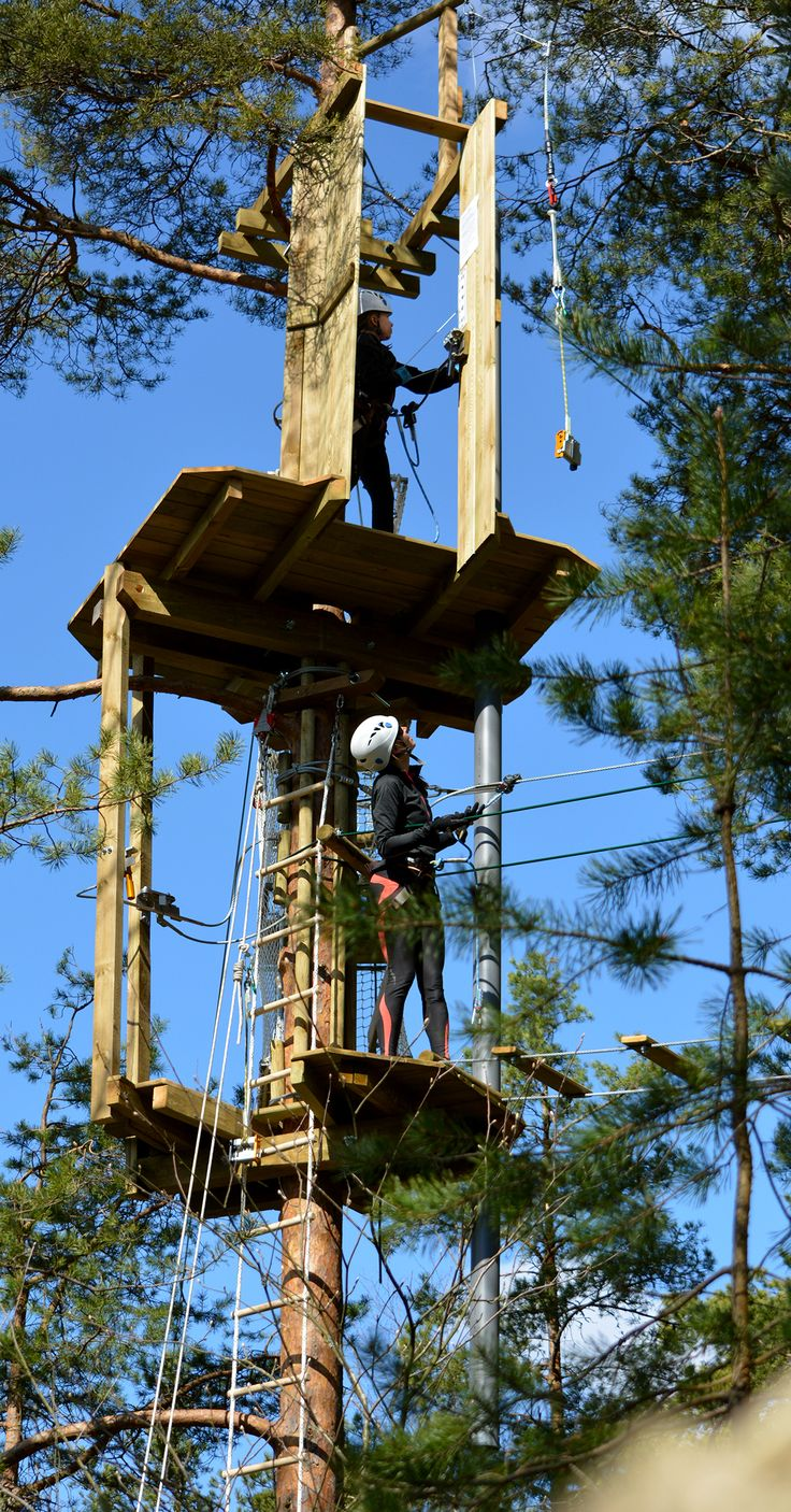 Are your ready for a leap? #tarzanswing #treetopadventure