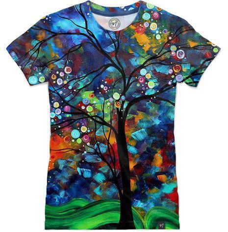 Abundance All Over Printed Designer T-Shirt – Magik Digital