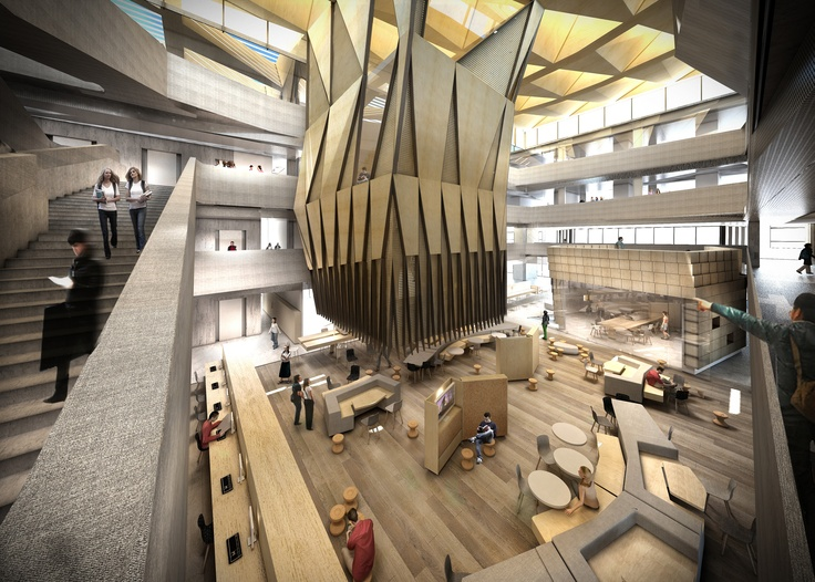 University Of Melbourne New Faculty Architecture By John Wardle Architects