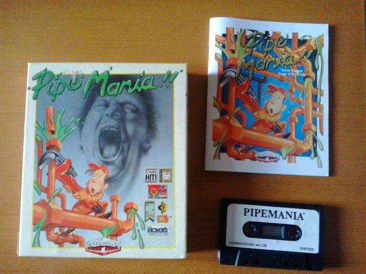PIPE MANIA (Tape in Big Box) By Empire for Commodore 64