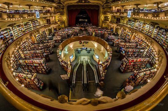 El Ateneo Grand Splendid: Libreria El Ateneo - Grand Splendid, Buenos Aires, Argentina