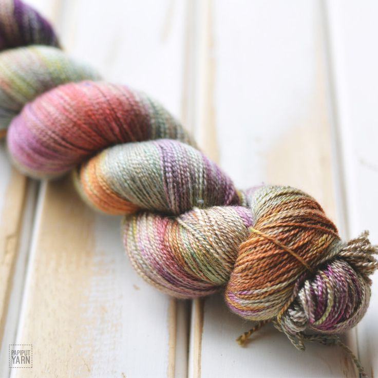 Hand Dyed Silky Merino Lace Yarn - Reog by PapiputYarn on Etsy https://www.etsy.com/listing/256515398/hand-dyed-silky-merino-lace-yarn-reog