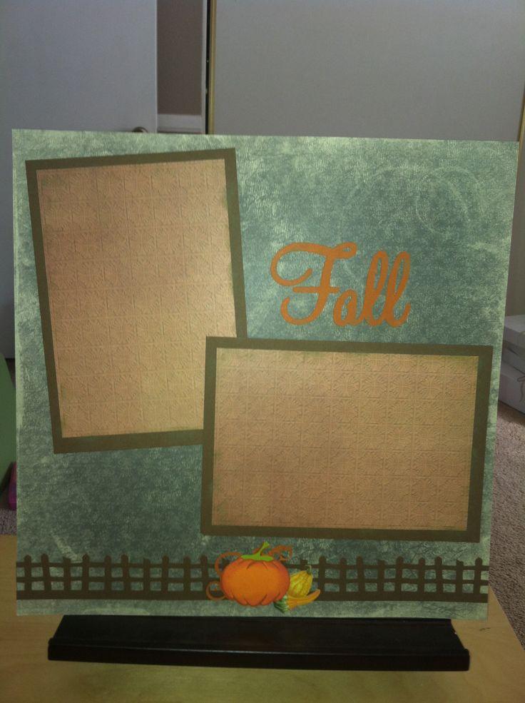 Creative Memories scrapbook page