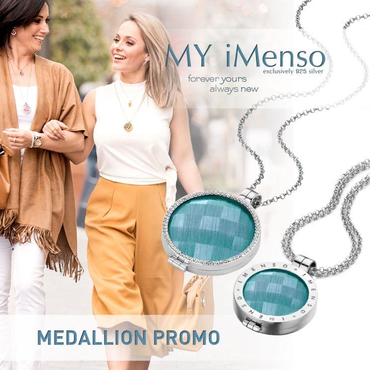 ♫ We zullen dóóórgaan ♫   Deze actie gaat het hele jaar door: Gratis ketting en steen bij aankoop van een zilveren medaillon van MY iMenso vanaf €80  Zo krijgt U voordelig een startset van dit mooie sieraad.  http://www.cdjuwelier.net/myimenso