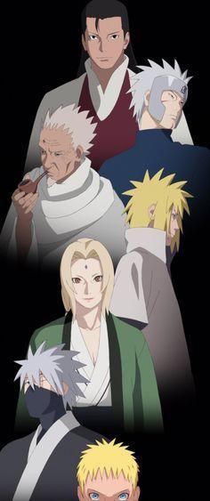 The Hokage by Fu-reiji | Anime, Naruto shippuden anime ...