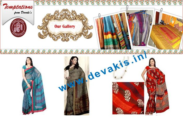 Devakis offer Saree printing, block printers, Textile printing in different colors and patterns to our customers in Bangalore, India.