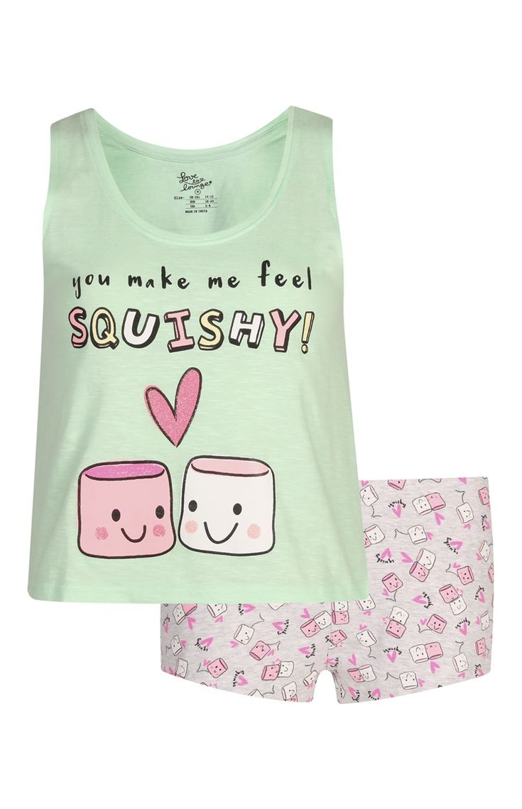 Marshmallow Cami/Shorts PJ Set