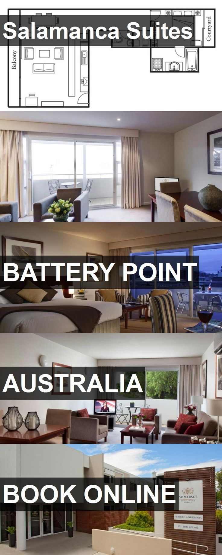 Hotel Salamanca Suites in Battery Point, Australia. For more information, photos, reviews and best prices please follow the link. #Australia #BatteryPoint #travel #vacation #hotel