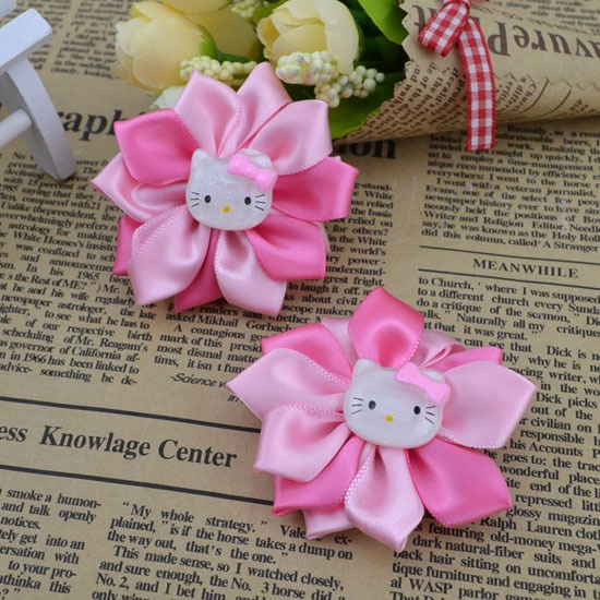 Fashion headwear Cute kitty hairpins children baby kid's hair accessories free shipping wholesale H70-in Hair Accessories from Apparel Accessories on Aliexpress.com