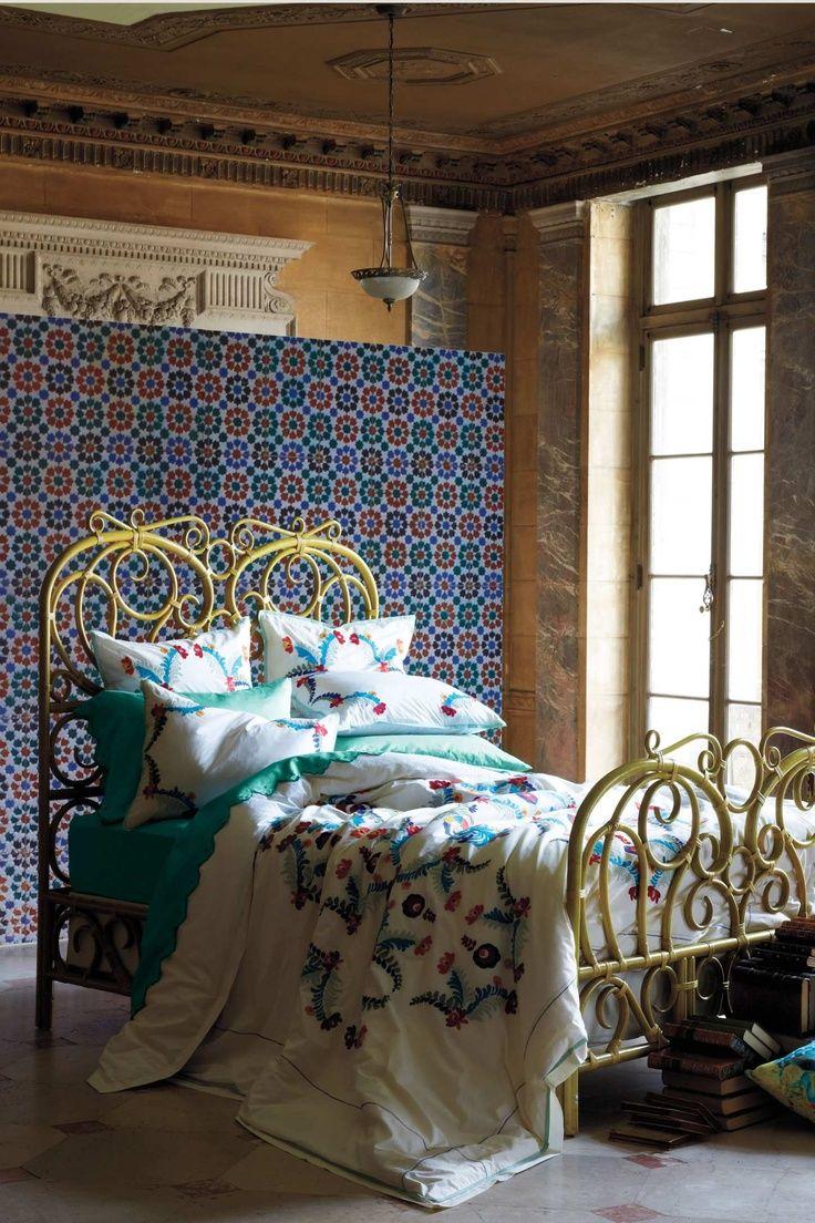 Radana Rattan Bed Designed By Anthropologie Via Stylyze