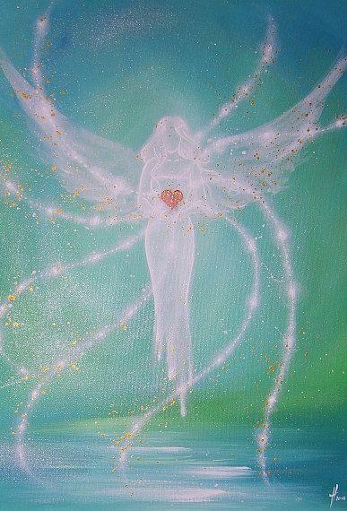 Foto de arte de angel limitada Ángel moderno por HenriettesART