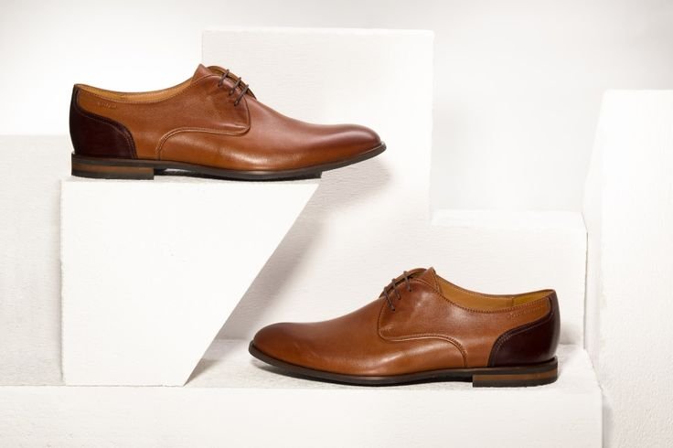 Two shades of brown make a classy pair.  Spring/Summer 2016. #mensshoes #genuineleather #craftsmanship