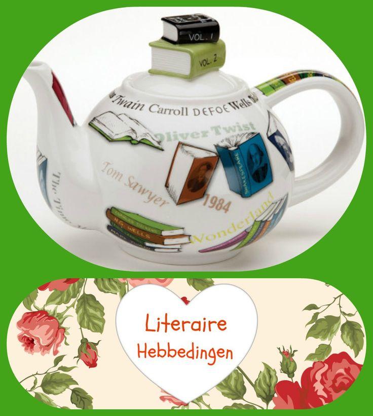 Een mooi boek en een pot thee meer moet dat niet zijn........