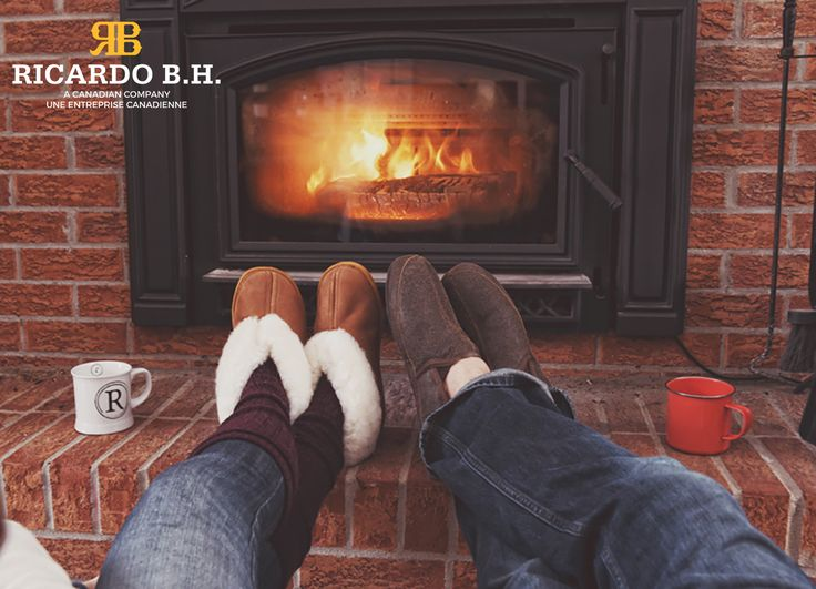 Nothing better than slippers by a warm fire. Genuine Sheepskin slippers.