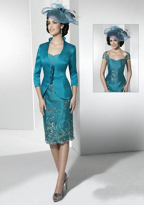 83630c61708e0 Cheap Discount Luxury DressesWith Jacket Mother of the Bride Dresses ...
