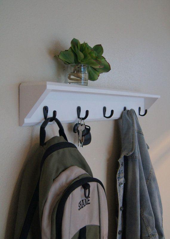 Best 25+ Coat rack with shelf ideas on Pinterest | Coat ...