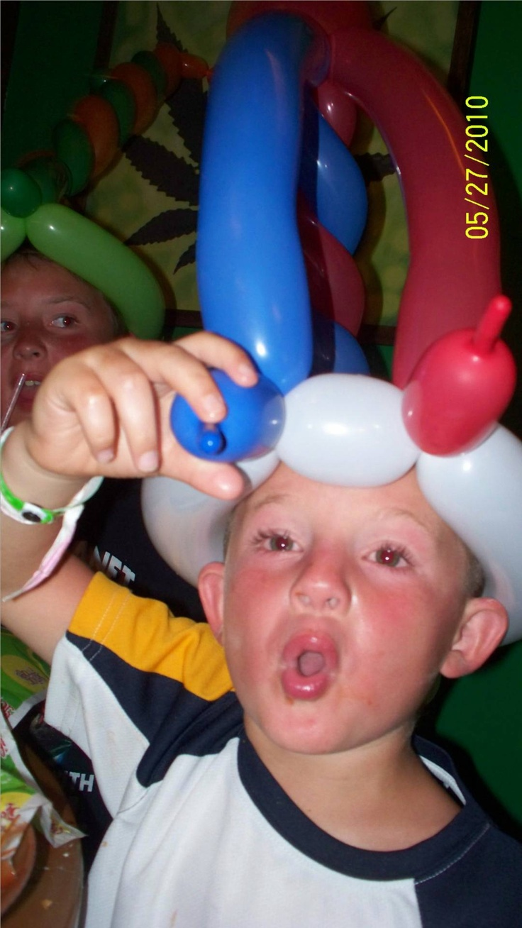 grandson having fun in cancun