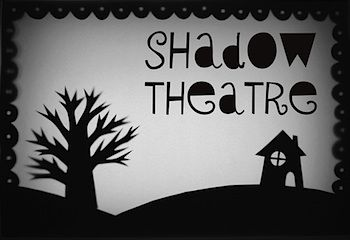 Mini-eco cereal box shadow theater