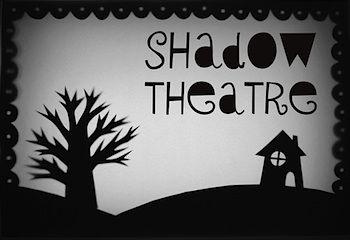 Mini-eco cereal box shadow theater