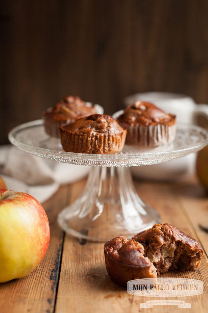 paleo appeltaart muffins