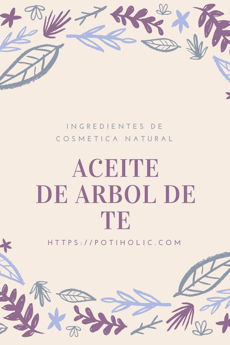 El aceite de árbol de té ( Malaleuca alternifolia ) es uno de los pocos aceites esenciales que pueden aplicarse puros sobre la piel. Descubre sus usos y propiedades.