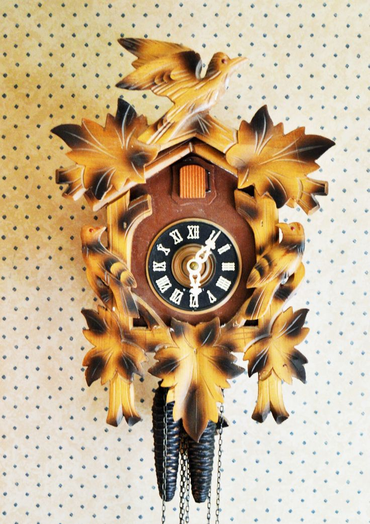 A personal favorite from my Etsy shop https://www.etsy.com/ca/listing/273603058/west-germany-cuckoo-clock-made-in