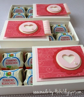 Love the simple packaging. Would be great for small chocolate or sweets for Valentine's Day or Wedding favour