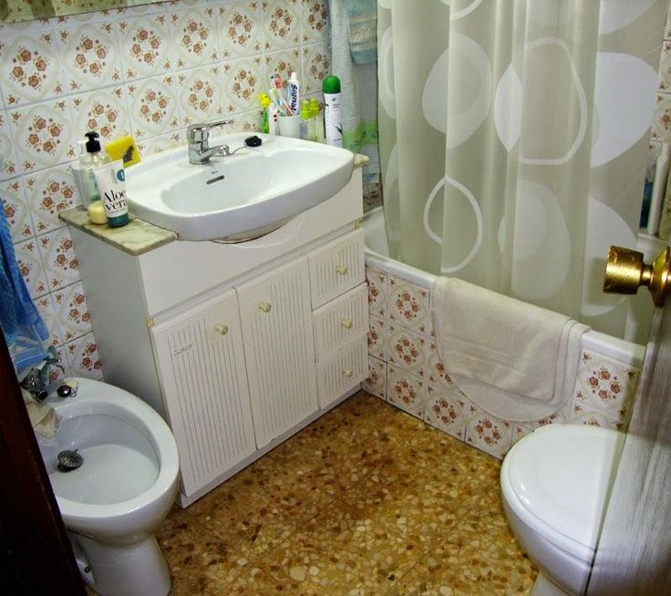 Reforma completa en un cuarto de baño  Toilet and ...