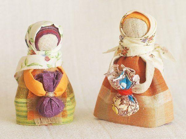 Кукла-подорожница.  (пошагово см: раб.комп.HM)