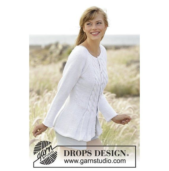 Handknit Women S Cotton Cardigan Spring Cardigan Hand Made Cardigan Cotton Woman Jacket Knit Fashion Knitting Patterns Free Knitting Designs