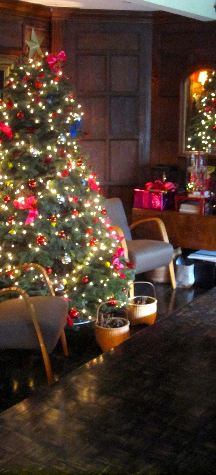 Christmas at Designer Joe Ruggiero's home.