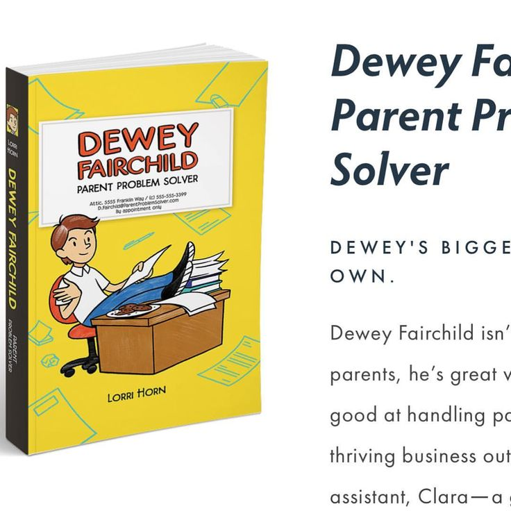⭐️ Available everywhere #books are sold 📚 🏵Best of 2017 🏵Middle Grade Fiction 🤗Kirkus Reviews 🏵Meet Dewey Fairchild and his parent problem…