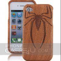 38€ Custodia per iPhone 4 in legno