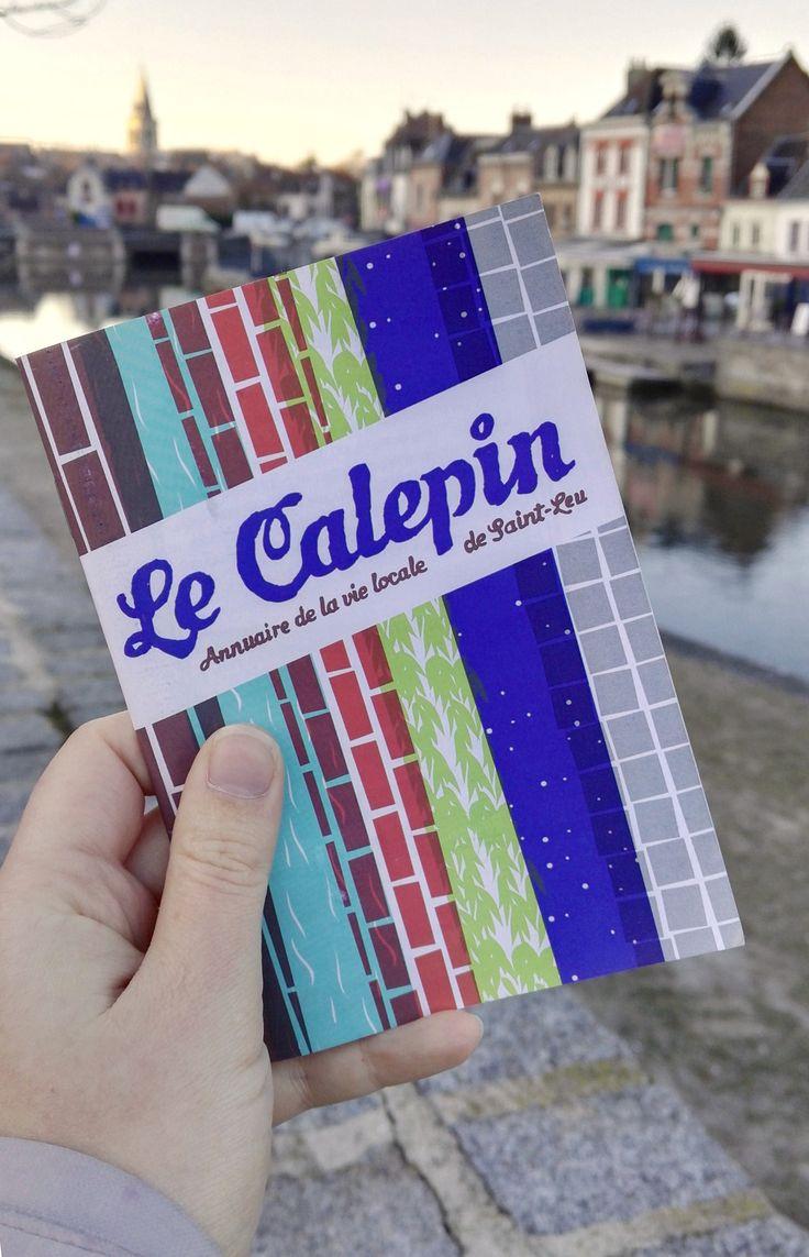 Le Calepin - Annuaire de la vie locale de Saint-Leu (graphisme : Chloé Bureau)