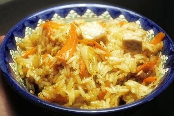 Плов в сковородке - Современная домашняя кухня от Оксаны Путан с фотографиями