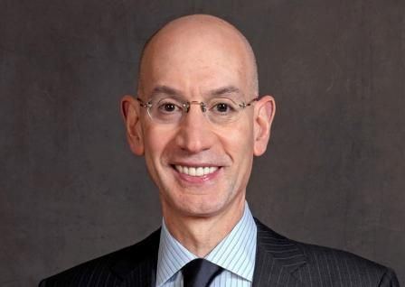 Smiling Adam Silver oversees NBA Salary Cap Set At All-Time High $63 million for 2014-15