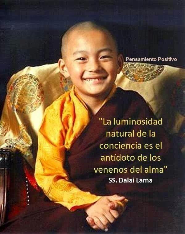"""""""La luminosidad natural de la conciencia es el antídoto de todos los venenos del alma"""""""