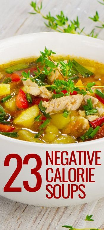 23 NEGATIVE CALORIE soup recipes. OMG #18 was so good that even my ridiculously picky kid asked for seconds!!!! #23NegativeCalorieSoups #Skinny4LifeEats™