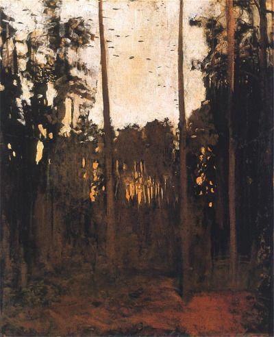 1910-again:  Józef Chełmoński,Study for Capercaillie 1890
